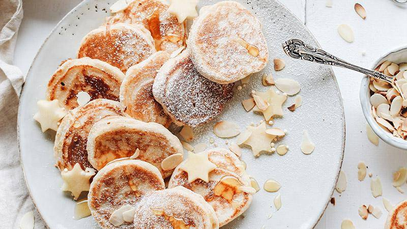 Оладьи на кефире с бананами: рецепты и пошаговое приготовление