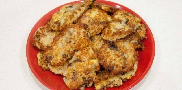 Рецепт драников картофельных с сыром