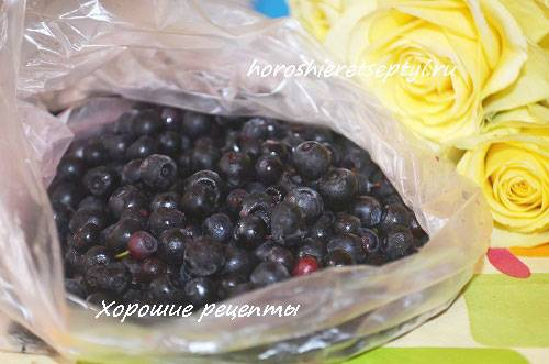 Заготовка черники с сахаром на зиму без варки: рецепт