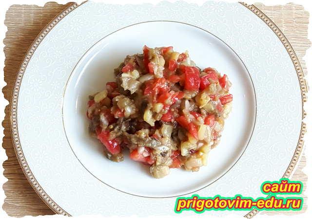 Вкуснейшая икра баклажанная жареная – домашний пошаговый рецепт с фото, как ее приготовить