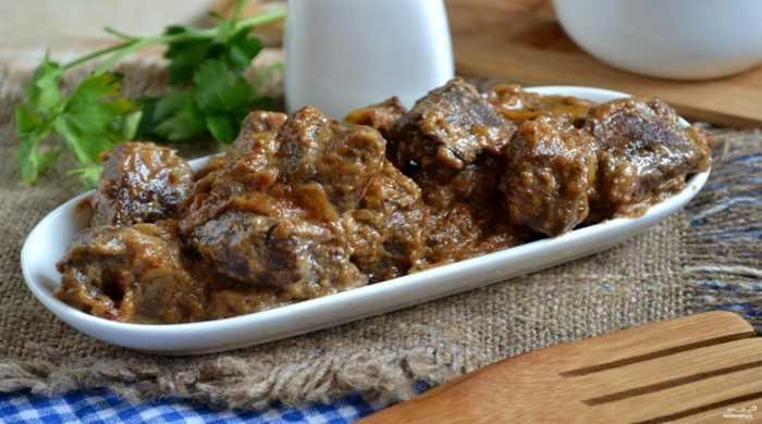 Рецепт гречки с куриной печенью