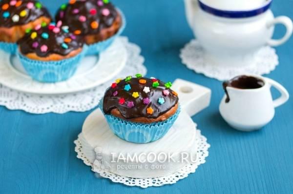 Кексы с лаймовой глазурью