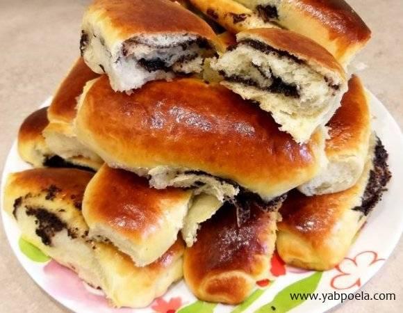 горячие фаршированные булочки