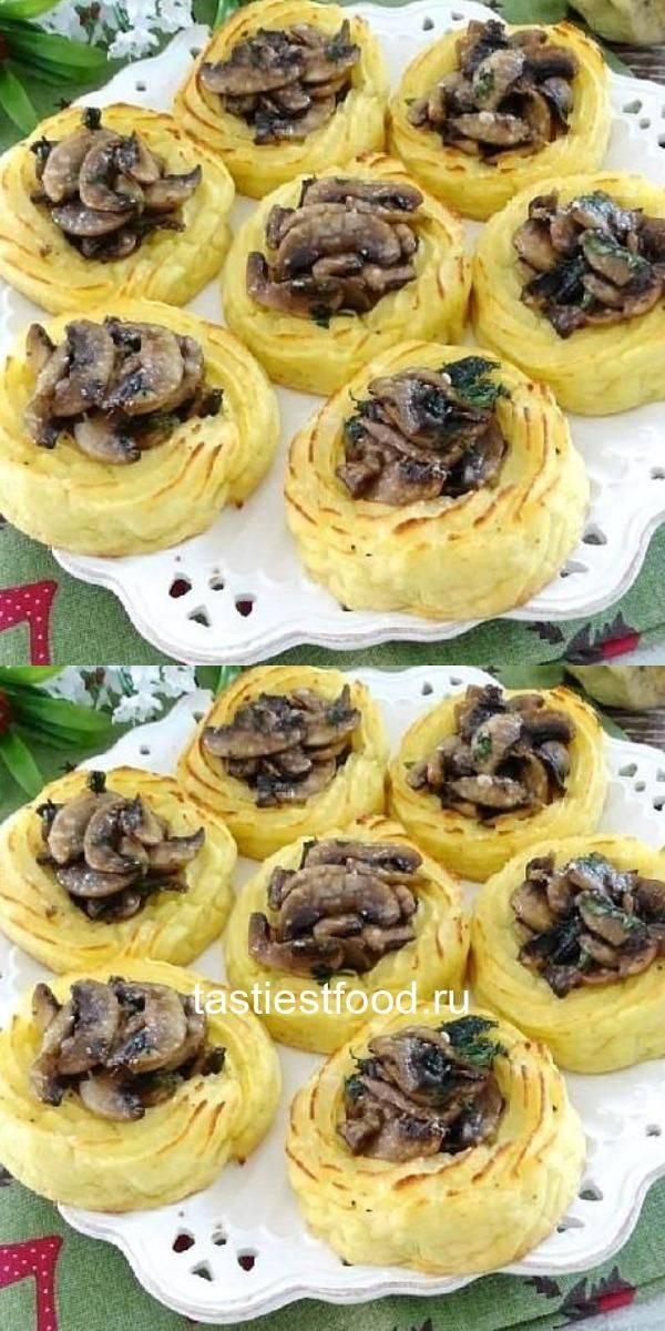 Картофельно-сметанные булочки с зеленью