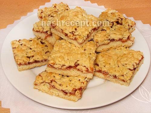 Рецепт песочного теста для открытого пирога, печенья