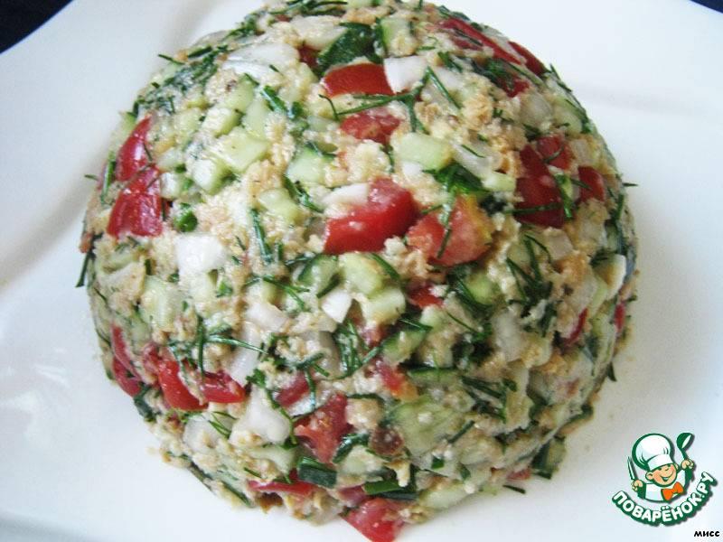 "Хлебный салат ""панцанелла"""