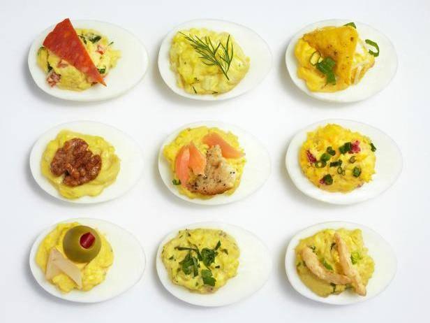 Фаршированные яйца: 10 рецептов