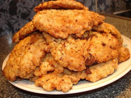 Ленивые куриные отбивные: рецепт и фото