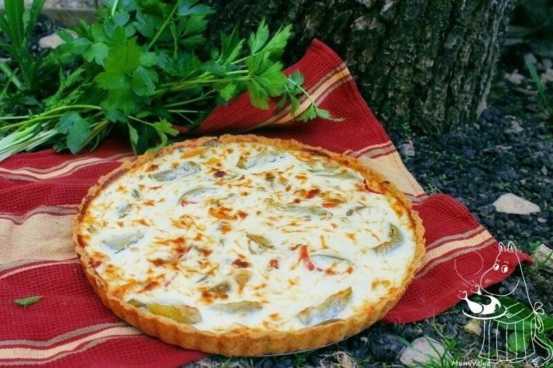 Песочный пирог с зелеными помидорами рецепт | гранд кулинар