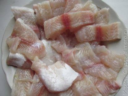 Филе пангасиуса в кляре - 5 пошаговых фото в рецепте