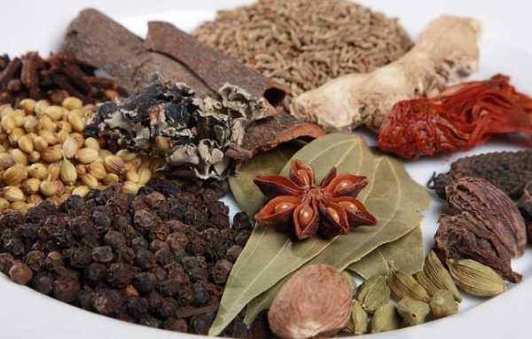 Индийские приправы: смесиспеций (масала, гарам-масала, чат-масала, чаунк)