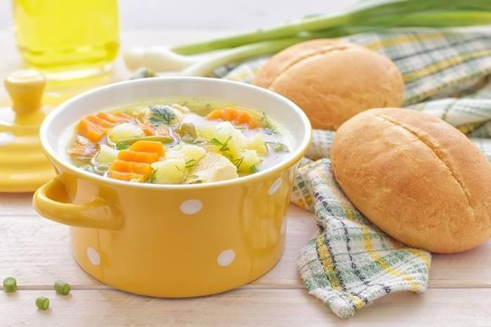 """Рисово-фасолевый суп """"на скорую руку"""""""