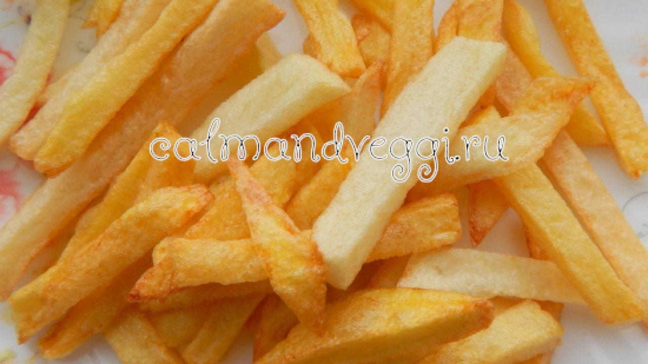 Пошаговый рецепт приготовления картошки фри в духовке