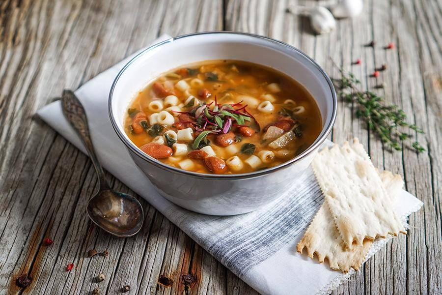 Суп «минестроне» классический, рецепт с фото