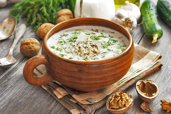 Секреты приготовления супа таратор с йогуртом с фото для новичков