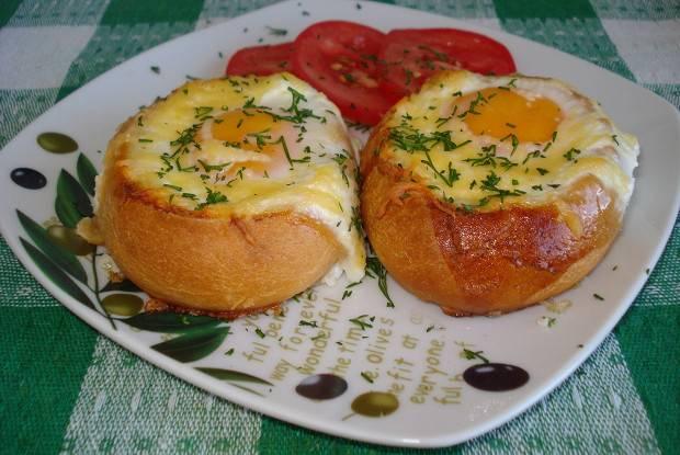 Быстрые булочки к завтраку