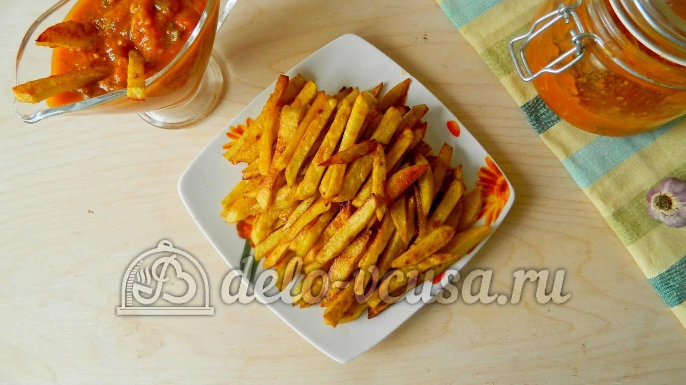 Картофель фри в духовке. рецепты приготовления