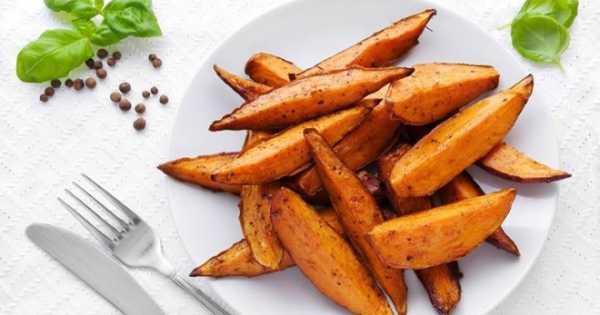 Картофельное пюре с бататом