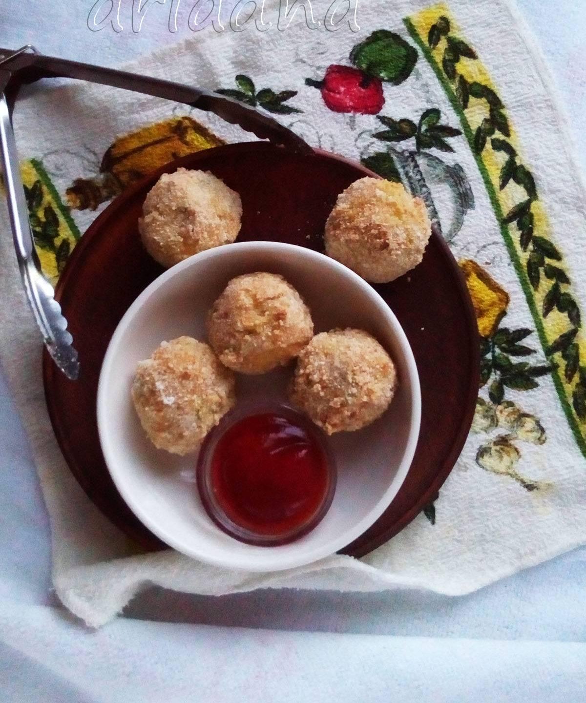 Творожные шарики из сладких сырков