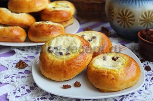 Рецепт творожного пирога со сливами - 8 пошаговых фото в рецепте