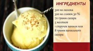 Мороженое: пошаговые рецепты с фото