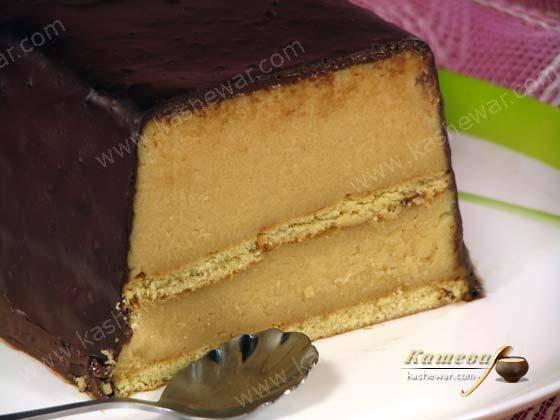 Вкусный десерт из манки