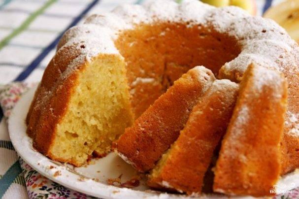 Кекс на сметане в духовке: рецепт приготовления с простой пошаговой инструкцией