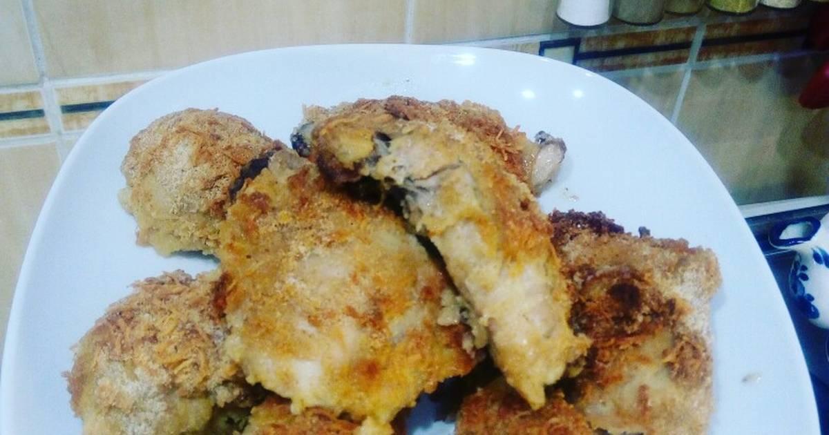 Куриные ножки с кукурузой в духовке - рецепт с фото