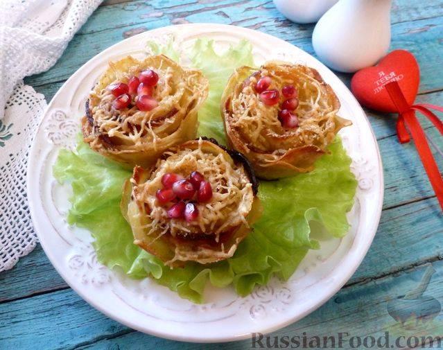 Розочки из картофеля рецепт с фото, как приготовить на webspoon.ru