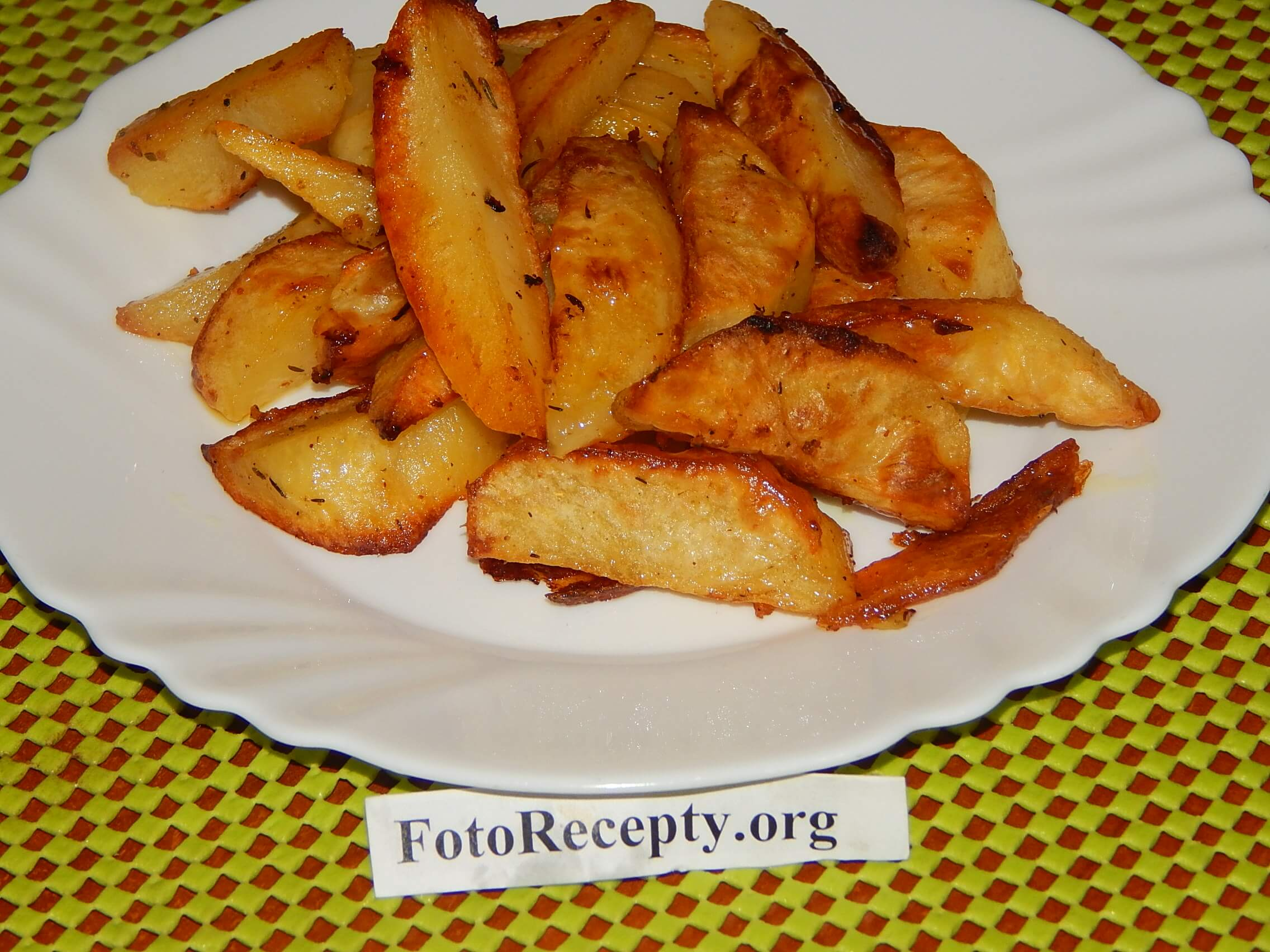 Хрустящая картошка в духовке рецепт с фото пошагово