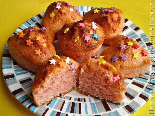 Нежный кекс на киселе - 13 пошаговых фото в рецепте