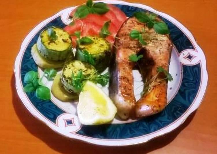 Маринованная форель на гриле — рыбные рецепты