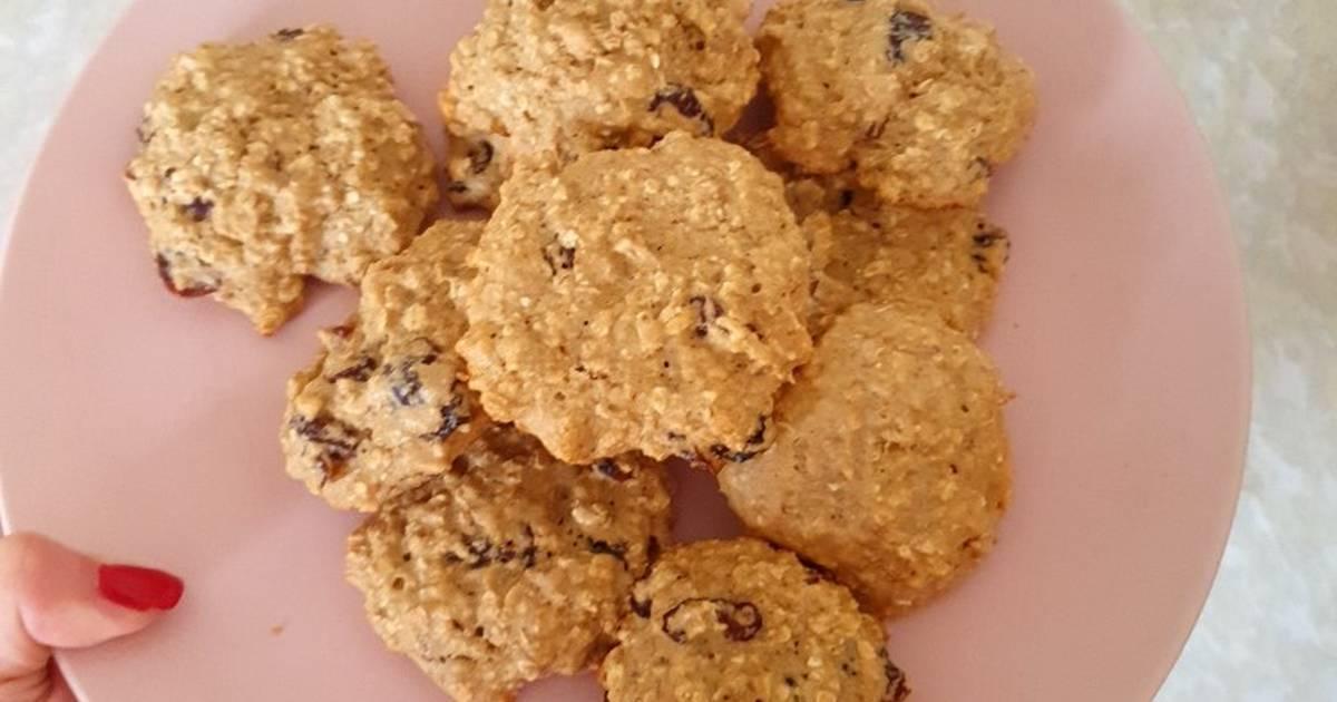 Абрикосовое печенье с лимонной глазурью