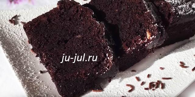 Кекс черный принц  рецепт с фото