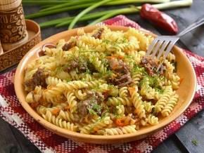 """Как приготовить пасту """"примавера"""" с зеленой фасолью? пошаговый рецепт с фото."""