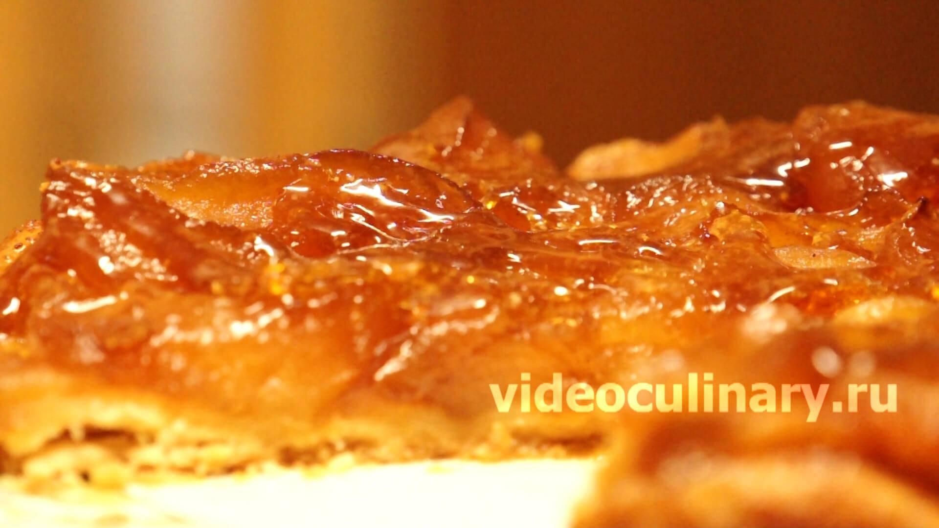 Готовим пирог с яблоками по-французски