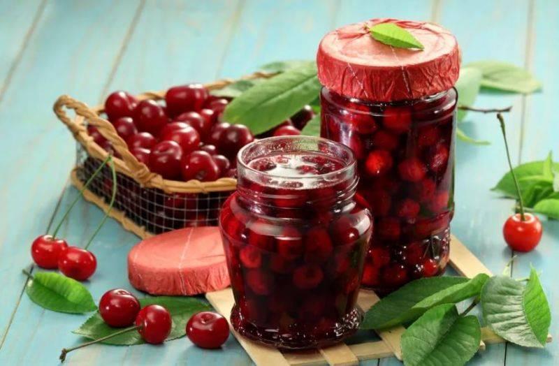 Простые рецепты вишневого варенья
