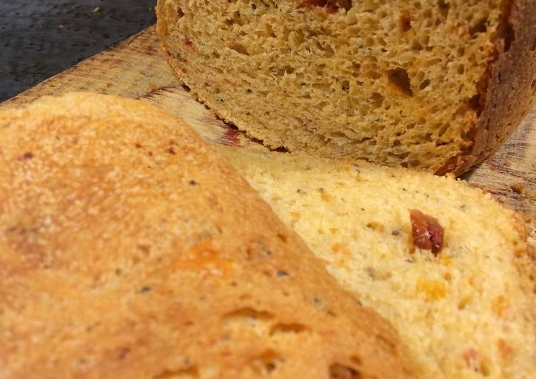 Рецепты хлеб с вялеными помидорами