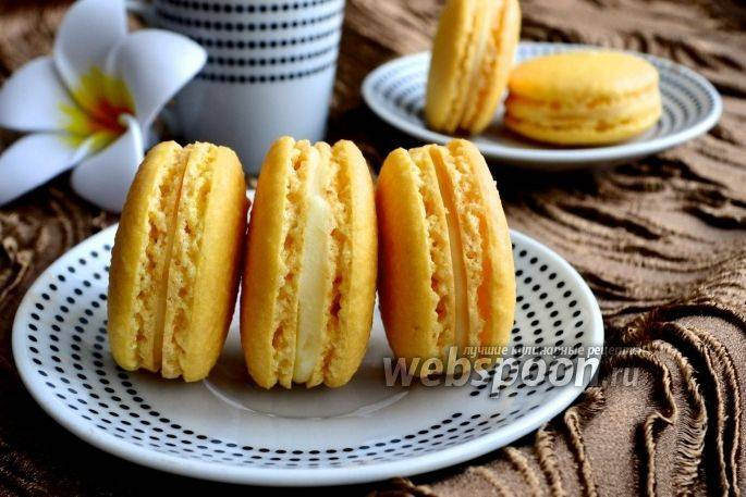 Печенье макарон - рецепт с фотографиями - patee. рецепты