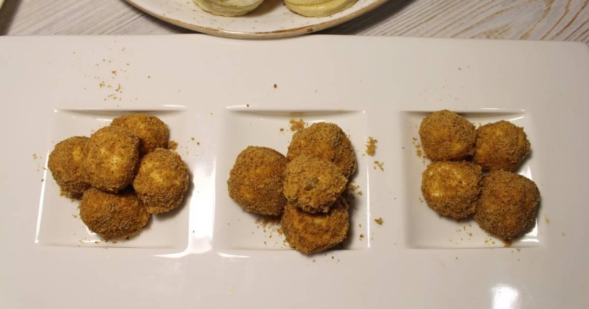 Закуска «рафаэлло» с кунжутом: рецепт с фото пошагово