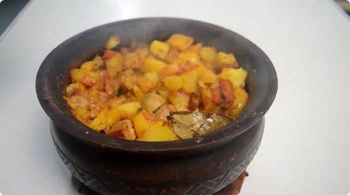 Жаркое с грибами - 23 домашних вкусных рецепта приготовления