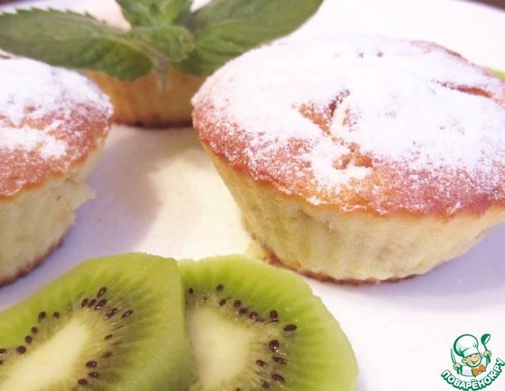 Творожные маффины - рецепты в духовке в силиконовых формочках с бананом, тыквой, яблоками