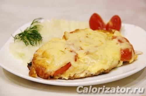 Куриная грудка с помидорами и сыром в духовке. пошаговый рецепт с фото