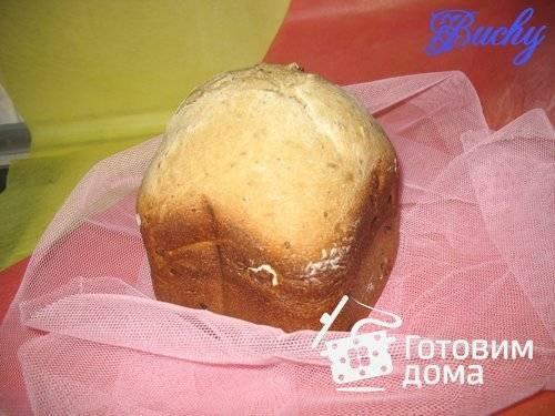 Медовый хлеб с изюмом в хлебопечке рецепт с фото