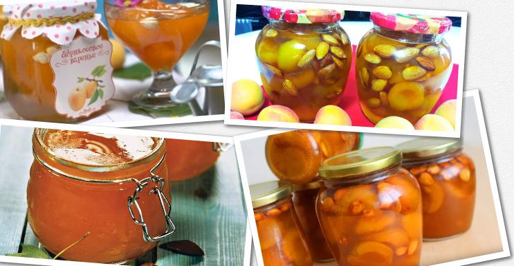 Варенье из абрикосов с миндалем. рецепты домашних заготовок