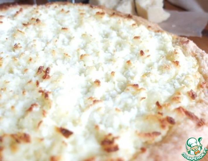 Лепешки с адыгейским сыром и крапивой