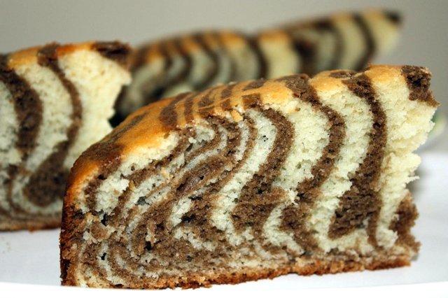 Как приготовить торт зебра в домашних условиях
