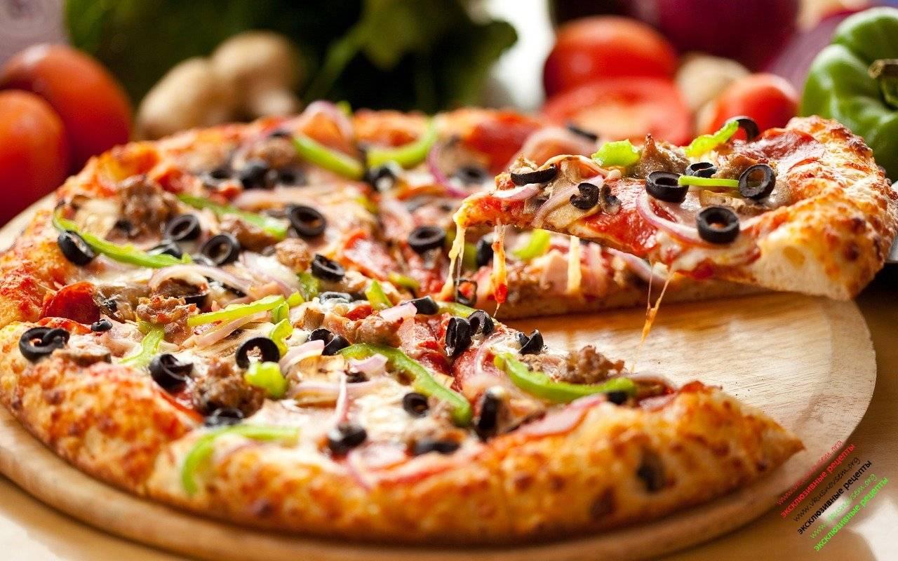 "Пицца ""маргарита"": рецепт. вкусная пицца"