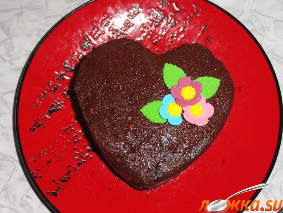 Торт «валентинка» - вариант десерта ко дню святого валентина) - рецепт с фотографиями - patee. рецепты