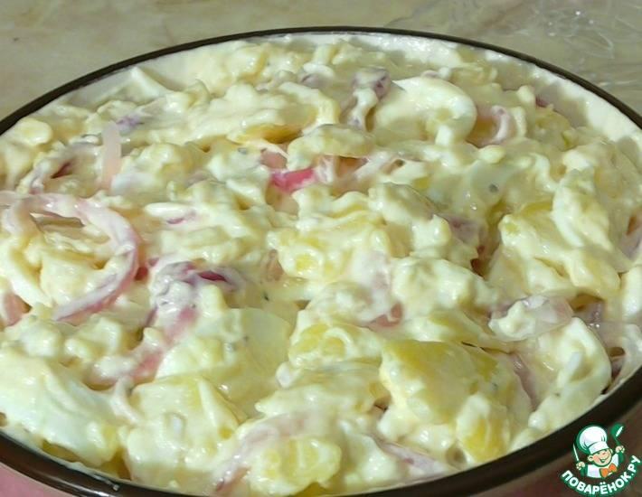Салат с солеными огурцами - 284 домашних вкусных рецепта приготовления